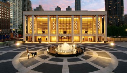 LINCOLN CENTER AND THE MUSEUM OF ARTS AND DESIGN