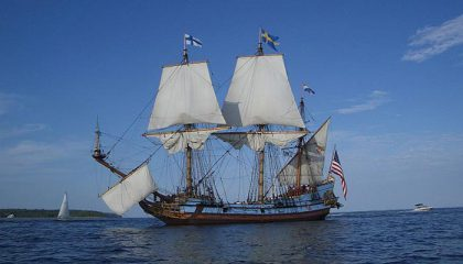 Swedish American History via Museum and Sailing Ship