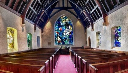 Splendor in the Hudson Valley: Union Church & Kykuit