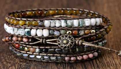 BOHO LAYERED BEADED BRACELETS
